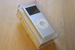 Shiny new iPod Nano