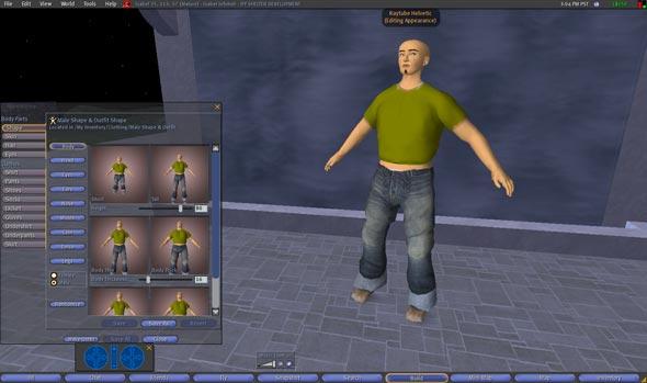Raytube Helvetic - Second Life