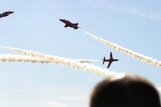 Red Arrows cross over