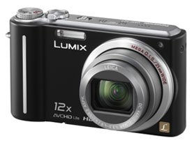 Image of Panasonic Lumix camera that uses the AVCHD Lite format